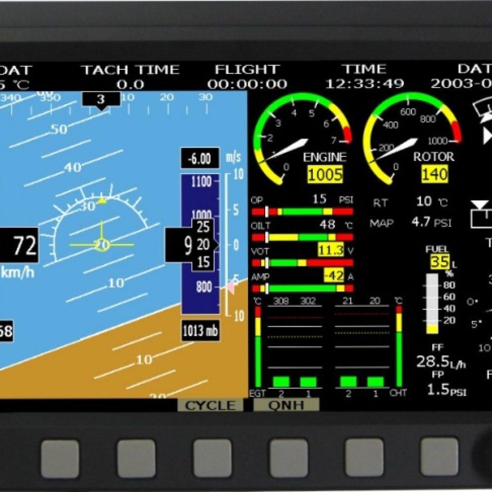 Ecran EMS EFIS 7 pouces