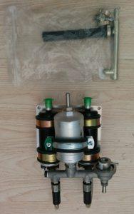 bloc 2 pompes filtre et régulateur