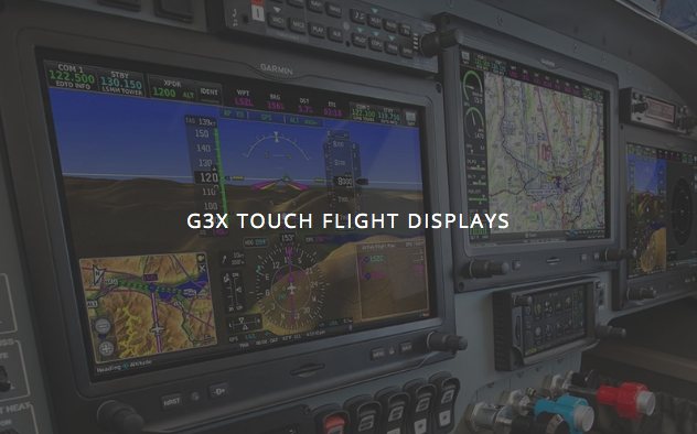 G3X Touch Flight Displays