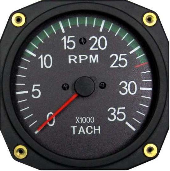 Compte tour 80mm 3500 rpm